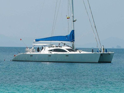Used Catamaran for sale, motor sail boats. New Power cats.