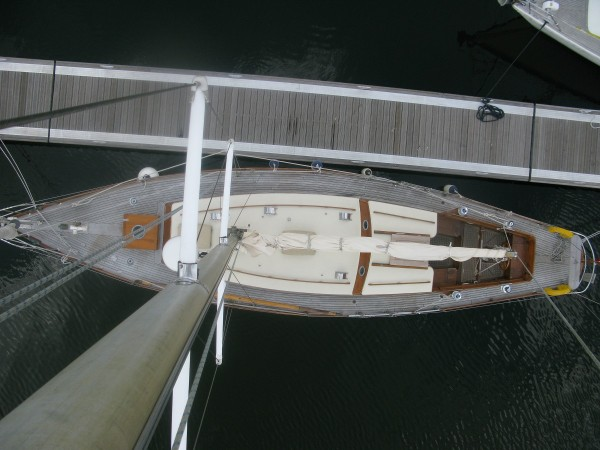 43′ Camper and Nicholson sloop traditional sailing yacht for sale UK